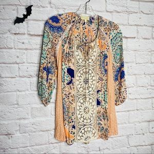 Lucy and Laurel peasant top tunic boho pattern top